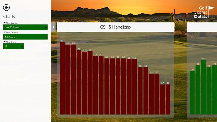 Golf Scores + Stats screen shot 6
