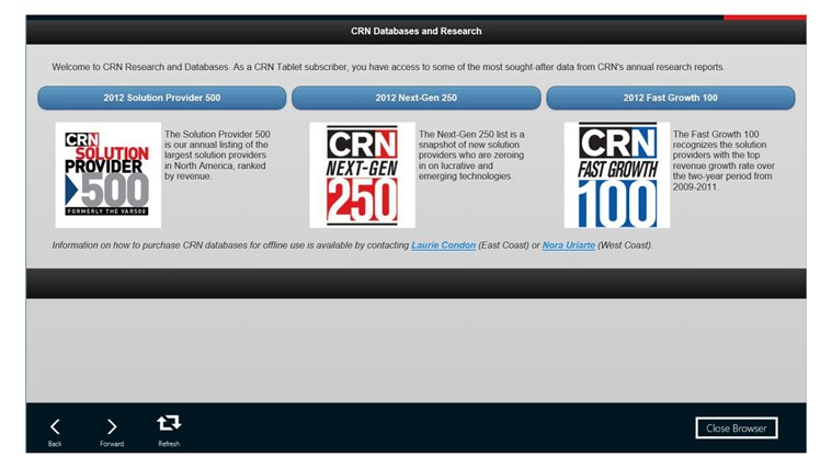 CRN Tech News screen shot 4