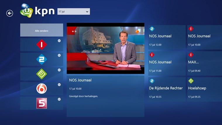 KPN iTV Online schermafbeelding 2
