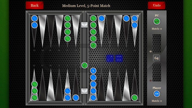 Backgammon Pro screen shot 2