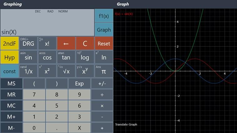 Calculator - Calc Pro HD screen shot 2