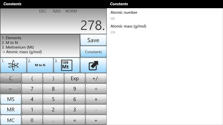 Calculator - Calc Pro HD screen shot 4