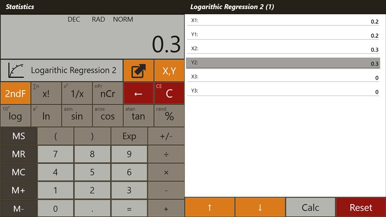 Calculator - Calc Pro HD screen shot 6