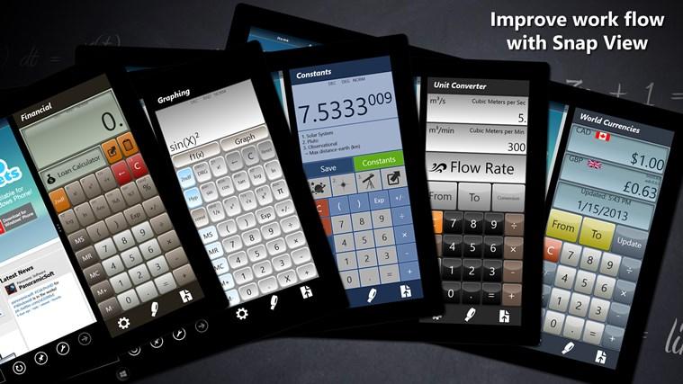 Calculator - Calc Pro HD screen shot 8
