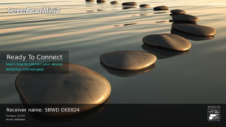 ScreenBeam Configuration Utility (Windows/Intel® WiDi) screen shot 6