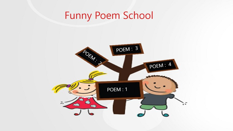 Funny Poem School screen shot 0