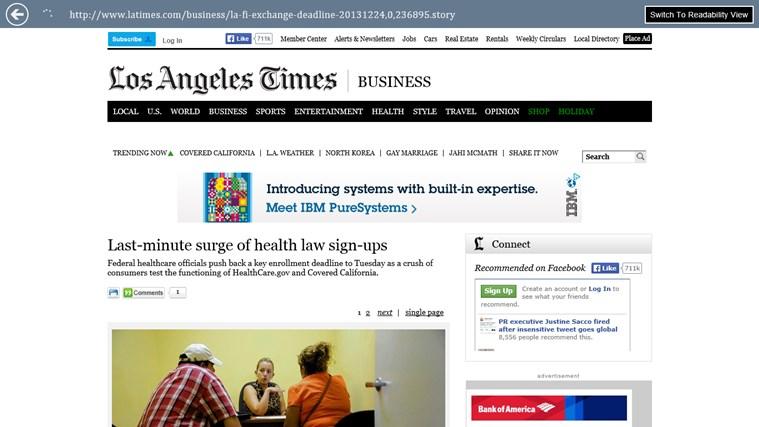 Google News - Reader screen shot 4