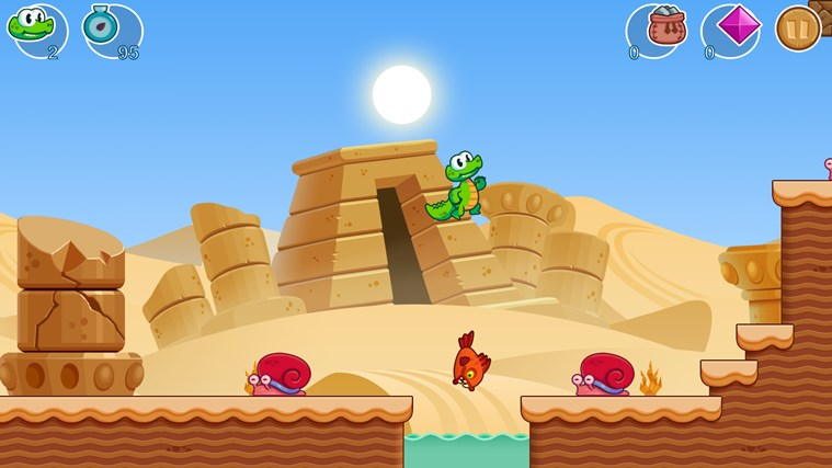 Croc's World screen shot 2