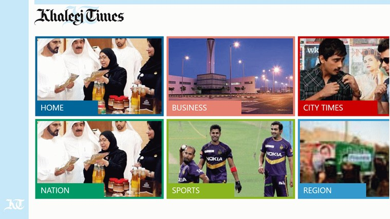Khaleej Times screen shot 2