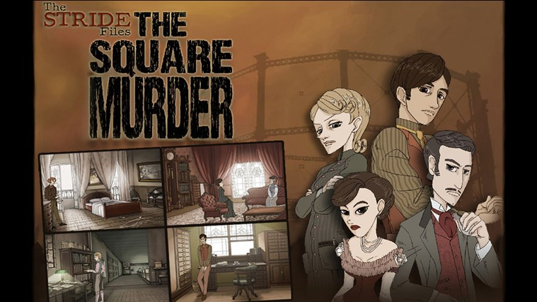 Stride Files: The Square Murder screen shot 0