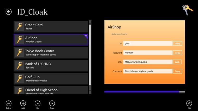 ID_Cloak captura de pantalla 2