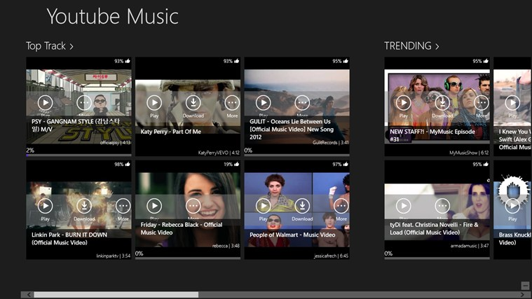 Youtube Music screen shot 0