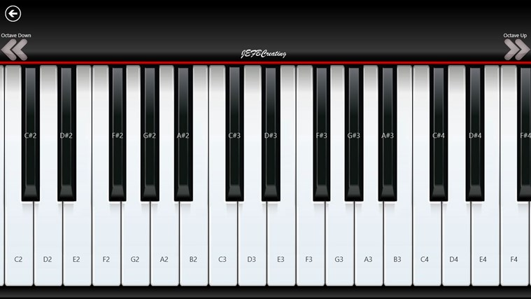 Piano8 capture d'écran 0