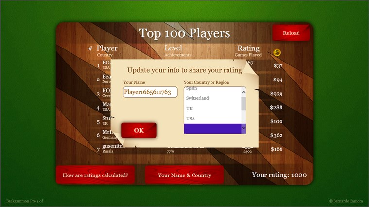 Backgammon Pro screen shot 4