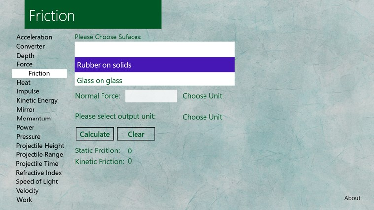 All About Physics screen shot 0