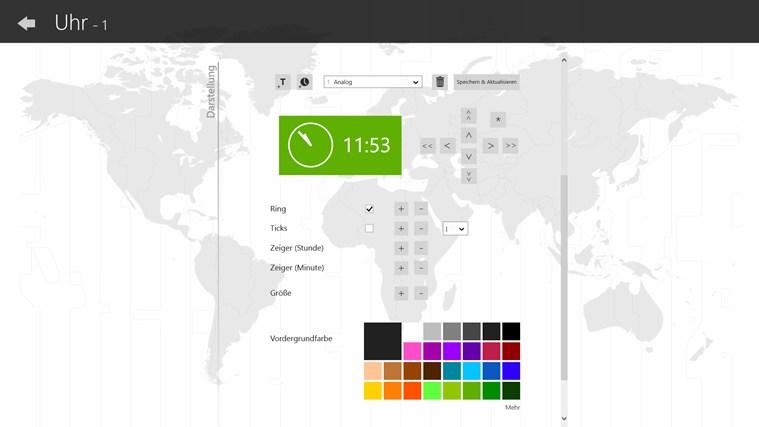Uhr (Live Kachel, Wecker, Timer) Screenshot 6