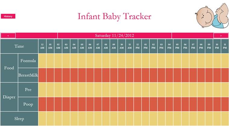 infant tracker