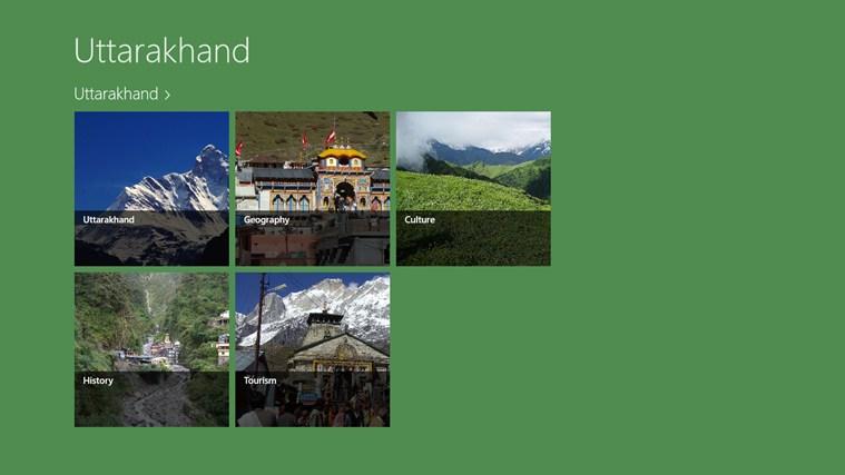 Uttarakhand skjermbilde 0