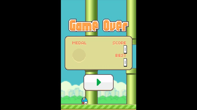 Flappy Bird 8 screen shot 2