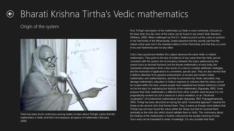 an illustration of the vedic mathematics What are some of the best vedic math tricks for example - and every trick is best in vedic mathematics vedic mathematics works exactly the same way.