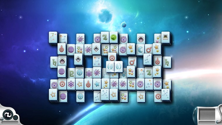 Microsoft Mahjong screen shot 2
