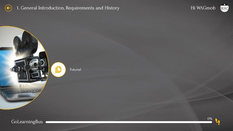 Learn Windows Movie Maker by WAGmob screen shot 2