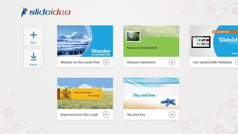 SlideIdea screen shot 0