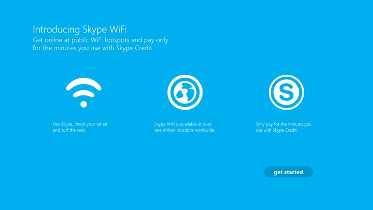 Skype WiFi screen shot 0