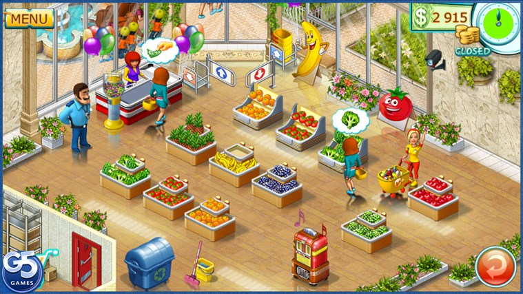 Supermarket Mania® 2 HD screen shot 0