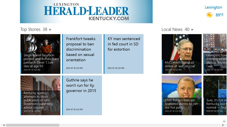 Kentucky.com screen shot 0