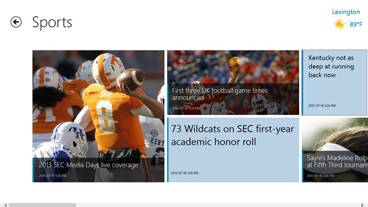 Kentucky.com screen shot 2
