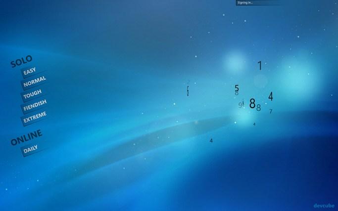 Sudoku Touch for Win8 UI  full