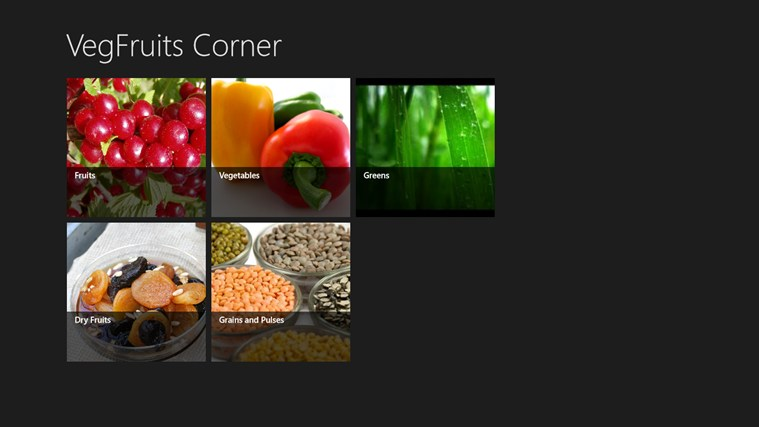 VegFruits Corner screen shot 0