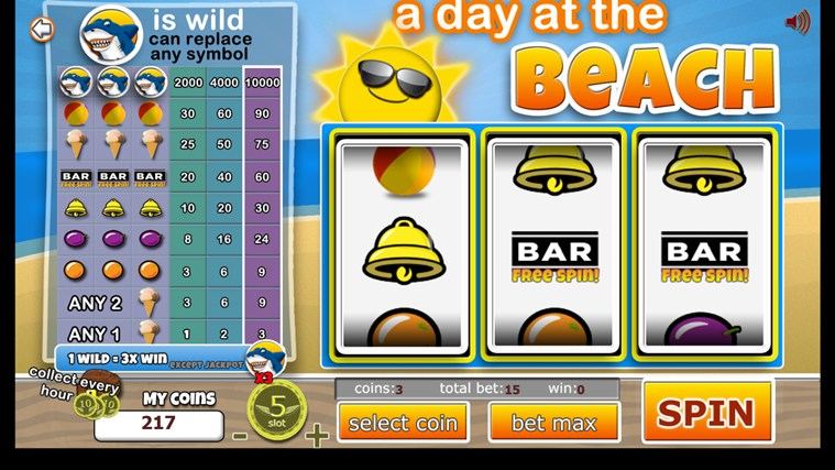 Slot Machines 3 Reel Classic screen shot 0