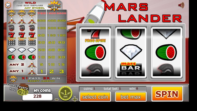 Slot Machines 3 Reel Classic screen shot 2