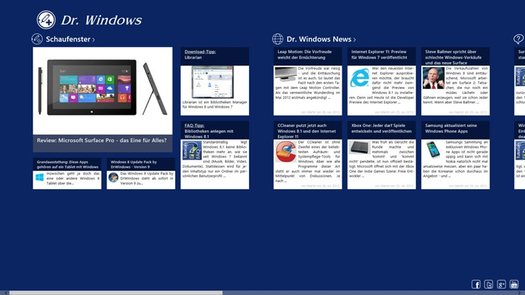 Dr. Windows Screenshot 0