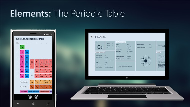 Elements: The Periodic Table screen shot 0