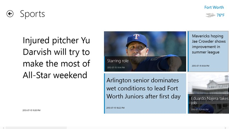 Fort Worth Star-Telegram screen shot 4