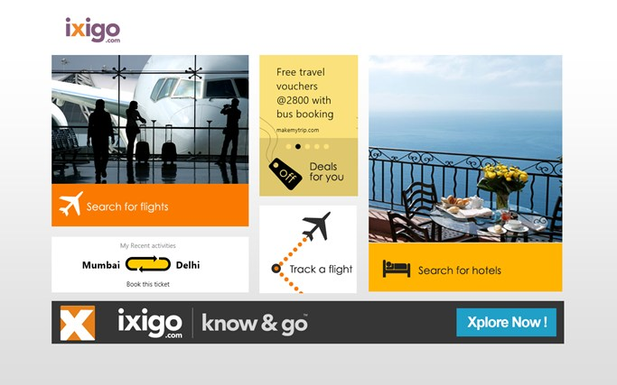 iXiGO Travel screen shot 0