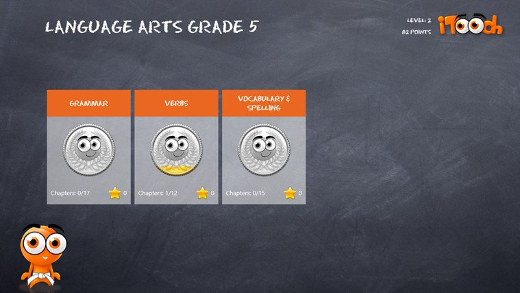 Language Arts Grade 5 screen shot 0