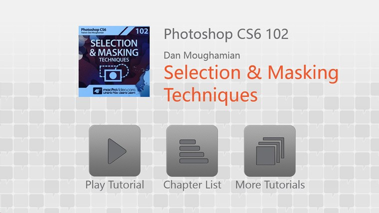 Photoshop CS6 - Selection & Masking tangkapan skrin 0