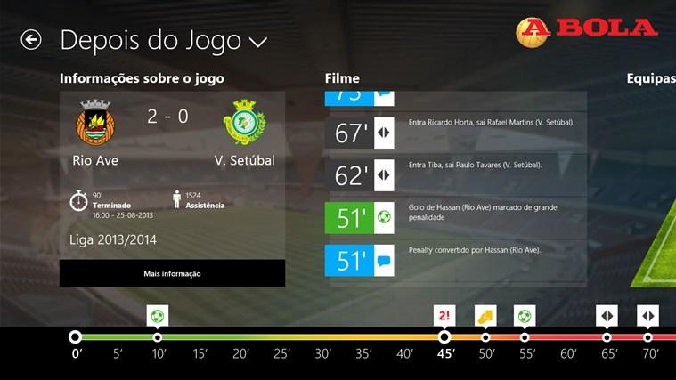 A BOLA - Jogos em direto captura de ecrã 2