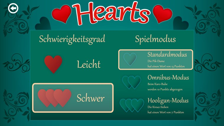 kartenspiele hearts download