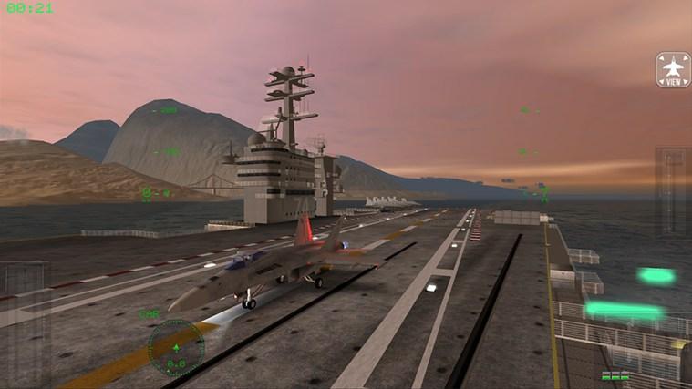 F18 Carrier Landing Lite cattura di schermata 0