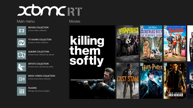 XBMC RT Remote screen shot 0