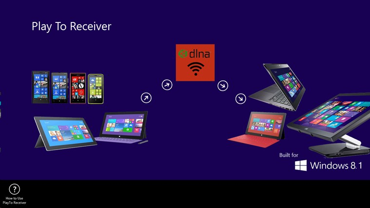 PlayTo Receiver screen shot 0