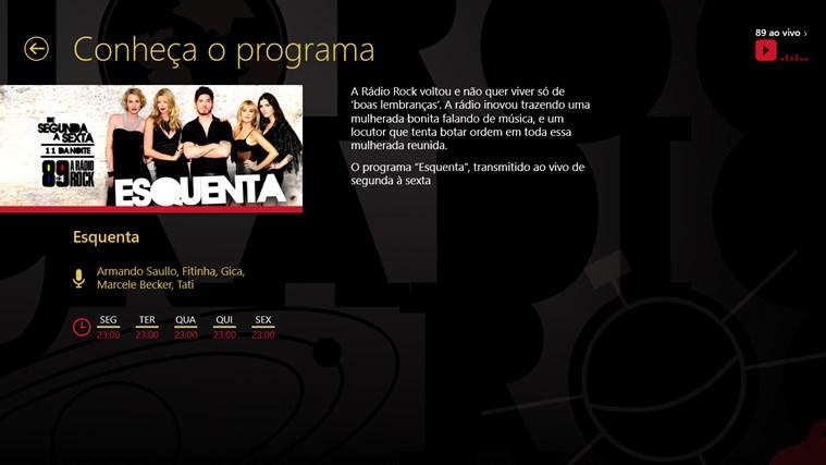 89 FM A Radio Rock captura de tela 4
