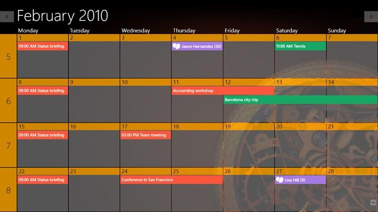 One Calendar screen shot 8