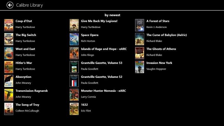 EpubReader captura de tela 2