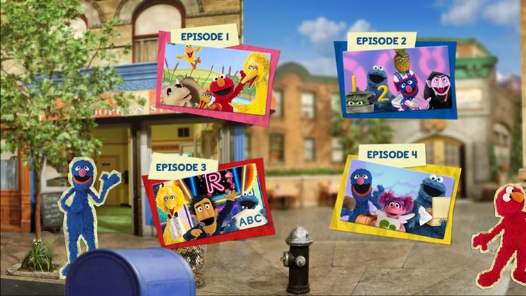 Sesame Street Touch & Learn TV screen shot 0